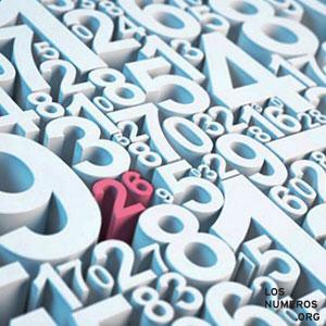 variedad de números